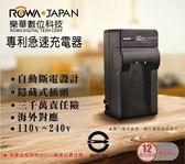 樂華 ROWA FOR JVC BN-VF815U BNVF815U 專利快速充電器 相容原廠電池 壁充式充電器 外銷日本 保固一年