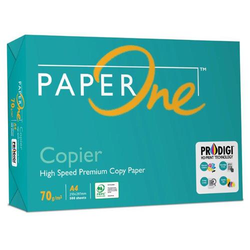 【PAPER ONE A4 影印紙】70P A4 影印紙 (一箱/五包)