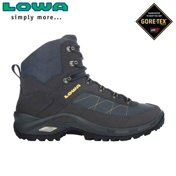 【LOWA 德國 男 TAURUS II GTX MID 中筒多功能健行鞋《海軍藍》】LW310526/登山鞋/中筒靴/徒步鞋