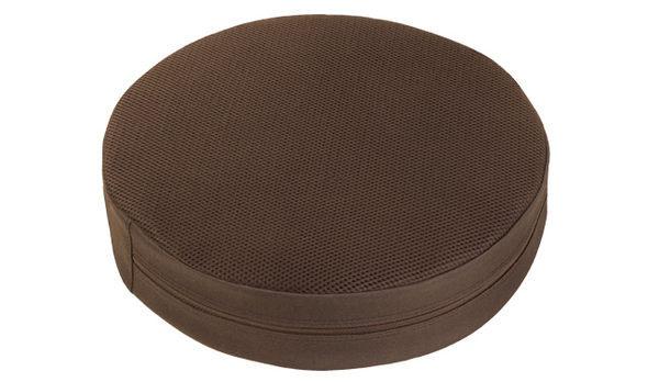 源之氣【小圓加高】RM-40023竹炭靜坐墊/二色可選 36x9cm