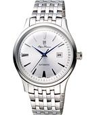 Olympianus 奧柏 尊爵復刻時尚機械腕錶-銀/39mm 990-14AMS銀