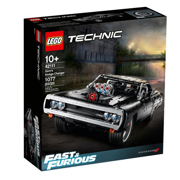 42111【LEGO 樂高積木】科技系列 Technic - Doms Dodge Charger (1077pcs)
