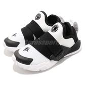 Nike 休閒鞋 Huarache Extreme TD 白 黑 童鞋 小童鞋 綁帶設計 運動鞋【ACS】 AH7827-101