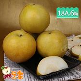 果之家 頂規特大18A東勢特級青龍梨新興梨6顆禮盒 (675g/顆)