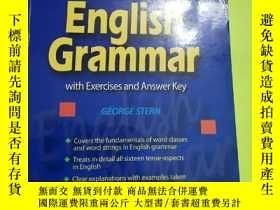 二手書博民逛書店An罕見Outline Of English Grammar: With Exercises And Answer