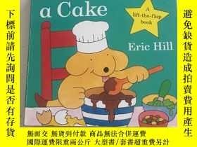 二手書博民逛書店紙板書罕見翻翻頁 Spot Bakes a CakeY23470