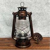 手提燈馬燈煤油燈復古露營燈家居擺件爾碩數位3c220v
