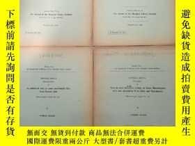 二手書博民逛書店studies罕見from the department of biology of the shanghai s
