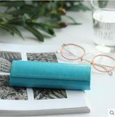 簡約近視眼鏡盒男女文藝韓國小清新墨鏡收納盒  YI232 【123休閒館】
