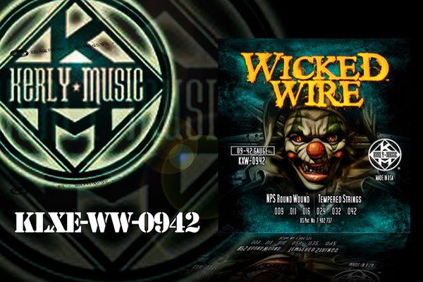 【小麥老師 樂器館】Kerly Wicked Wire KXW-0942 小丑弦 冰火弦 電吉他弦 電吉他【T79】