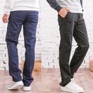 簡約紳士造型休閒褲...