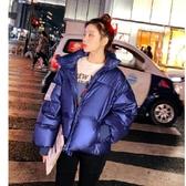 外套 棉襖 羽絨 冬季新款網紅羽絨服女短款棉服潮東大門外套韓版學生面包服女