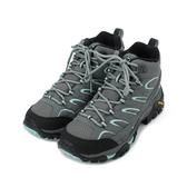MERRELL Moab 2 Mid GTX 登山鞋 灰/淺藍 ML06060W 女鞋
