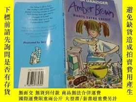 二手書博民逛書店Amber罕見Brown Wants Extra Credit:Amber Brown想要額外的學分Y2003