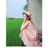 JoYcE ShOp.Vacation.微甜女孩格紋洋裝-4系 黑.藍 黃.暗橘【04-03003096】