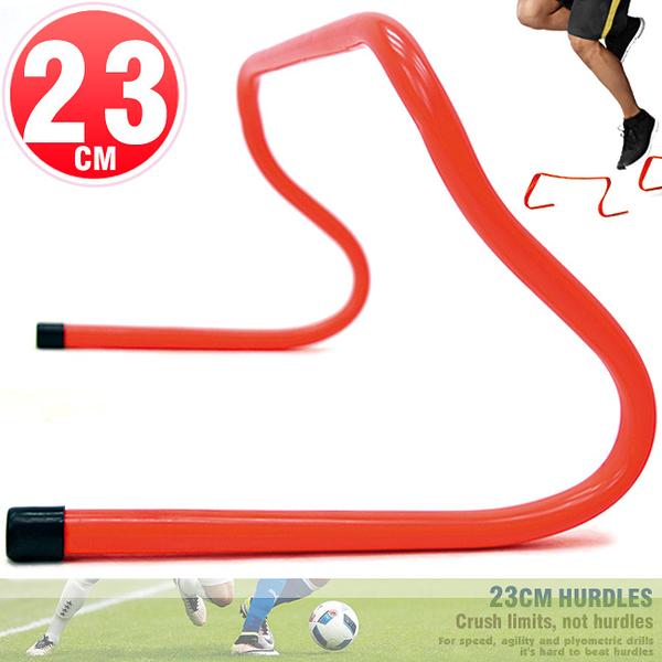 一體成形高低梯23CM速度跨欄訓練小欄架棒球障礙跳格欄田徑多功能架子運動健身器材推薦哪裡買ptt