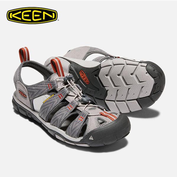 KEEN 男款 織帶涼鞋Clearwater CNX 1018497 / 城市綠洲 (水陸兩用、輕量、戶外休閒鞋、運動涼鞋)