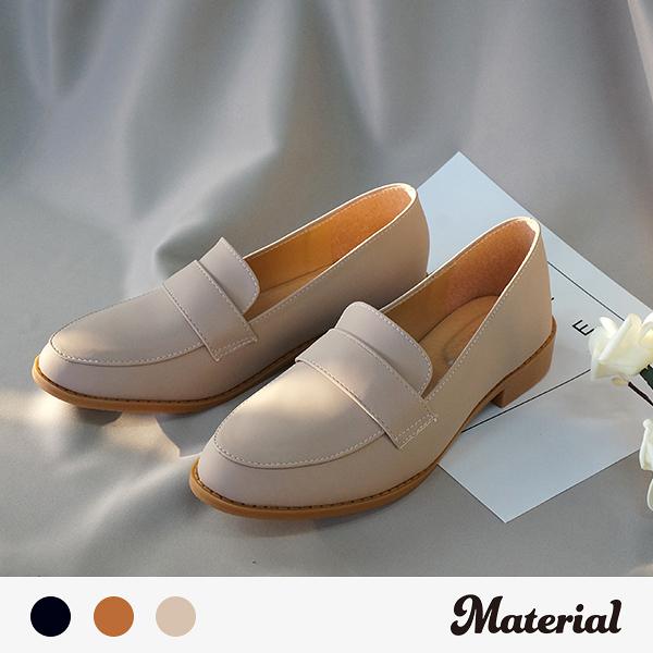 樂福鞋 素雅紳士懶人鞋 MA女鞋 T8014