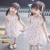 女童洋裝-女寶寶夏裝洋裝新款1-3歲女童時尚韓版洋氣2嬰兒公主裙子5 現貨快出