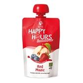 佑爾康金貝親【HAPPY HOURS】有 機纖果飲100gx1包/箱(蘋果/藍莓/草莓) 69元
