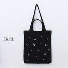 手提包 帆布包 手提袋 環保購物袋 【SPC08】 BOBI  10/06