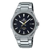 CASIO EDIFICE 輕薄系列 藍寶石玻璃八角腕錶(EFR-S108D-1A)-黑x44mm