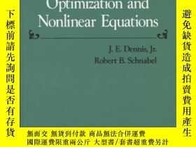 二手書博民逛書店Numerical罕見Methods For Unconstrained Optimization And Non