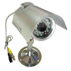 【CHICHIAU】專業級24燈室外防水夜視彩色監視器