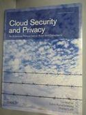 【書寶二手書T7/大學資訊_ZDK】Cloud Security and Privacy: An Enterprise