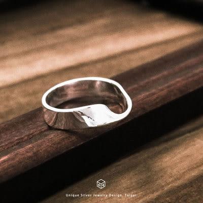 莫比烏斯 Mobius(L) 純銀戒指-ART64
