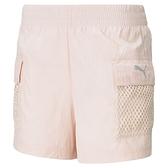 PUMA 流 行 系 列 Evide 女款粉色運動短褲-NO.59977527