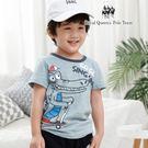 可愛鱷魚圖案竹節棉T 短袖上衣  [85375] 小童 春夏 童裝 RQ POLO 5-15碼 現貨