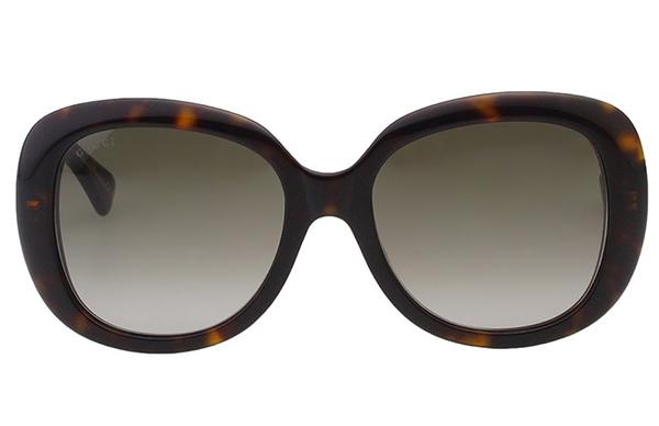 GUCCI- 復古百搭 太陽眼鏡 (琥珀色)