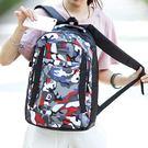 雙肩包男迷彩背包學生旅行包包大容量書包戶外運動電腦包DSHY