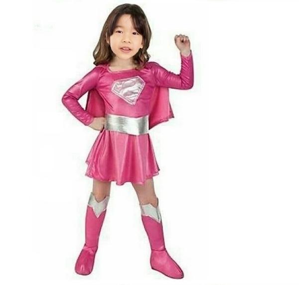 女童 現貨 新款 復仇著聯盟 女超人 勇敢 堅強 角色扮演  獨特 不撞衫 聖誕節 萬聖節  現貨表演服