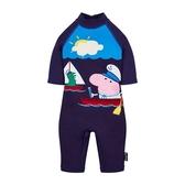 mothercare 藍色佩佩豬全罩泳衣-泳裝系列(M0PB107)18M