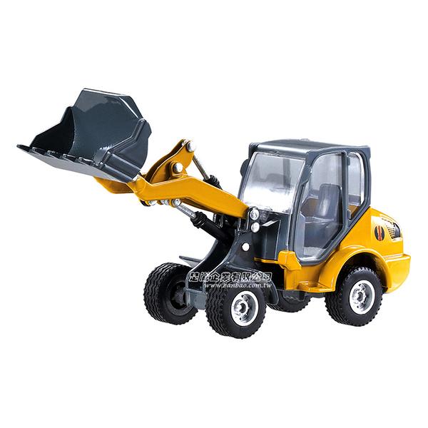 HY TRUCK華一 6012-1鏟車 工程合金車模型車 鏟裝機 鏟土機(1:60)【楚崴玩具】
