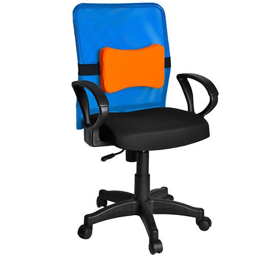 買椅送腰墊!!【凱堡】炫彩繽紛透氣辦公椅/電腦椅