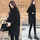 【QV2635】魔衣子-保暖顯瘦中長版毛...