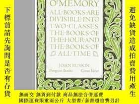 二手書博民逛書店The罕見Lamp Of Memory-記憶之燈Y436638 John Ruskin Penguin Uk,