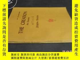二手書博民逛書店THE罕見CREATION An Oratorio《海頓:創世紀