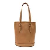LOUIS VUITTON 路易威登 棕色牛皮肩背包 Bucket Bag 【二手名牌BRAND OFF】