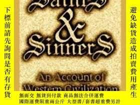 二手書博民逛書店【罕見】2010年 Saints & Sinners: An A