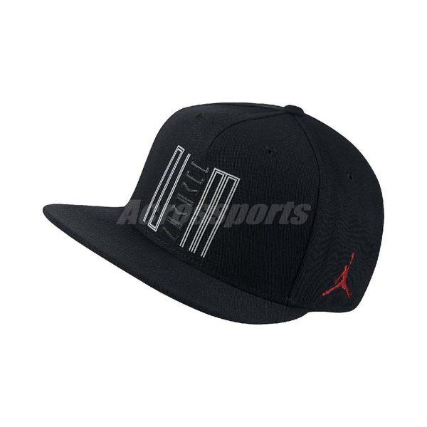 Nike 帽子 AJ 11 Low Cap Air Jordan 黑 白 紅 23 11代 男女款 可調整 棒球帽 【PUMP306】 843072-010