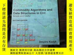 二手書博民逛書店Commodity罕見Algorithms and Data S