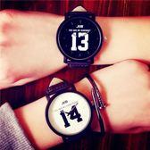 原宿風復古中學生男女情侶手錶一對【洛麗的雜貨鋪】
