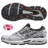 MIZUNO WAVE PARADOX 4 SW 超寬楦慢跑鞋 白銀 J1GC174103 男鞋