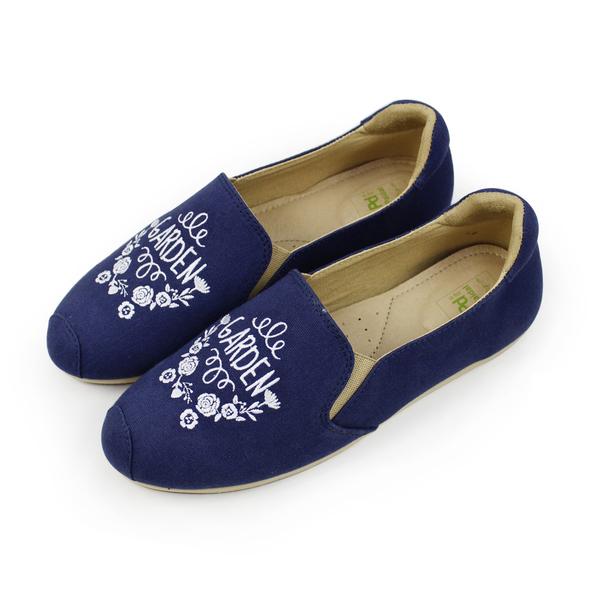 Paidal 祕密花園休閒鞋樂福鞋懶人鞋