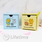 ﹝韓國Kakao Friends積木盒﹞正版 積木盒 單抽盒 收納盒 置物盒 木櫃〖LifeTime一生流行館〗