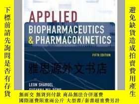 二手書博民逛書店【罕見】Applied Biopharmaceutics & P